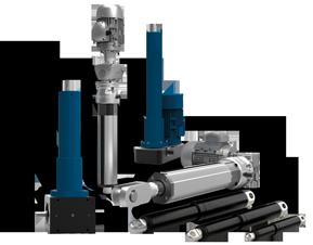 Linear Motion - Actuators, Screw Jacks, Controls | gapp co uk